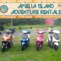 amelia island adventure rentals scooter fernandina beach florida motor vehicles