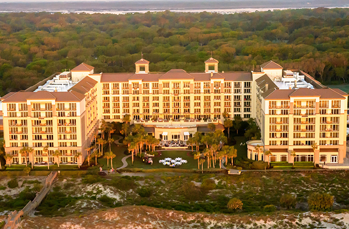 aerial photos of amelia island fernadina beach photography